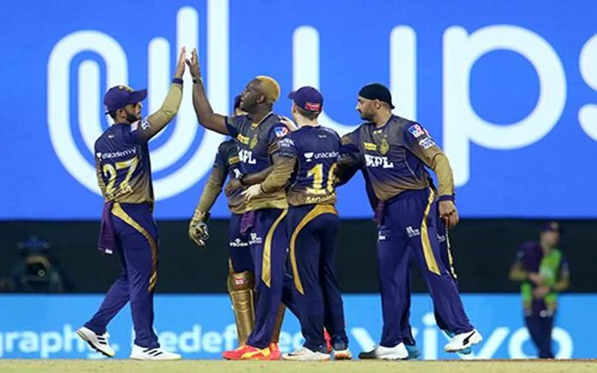 Cricket Image for Mumbai Indians Players Trapped In Andre Russells Claws Kolkata Knight Riders Need