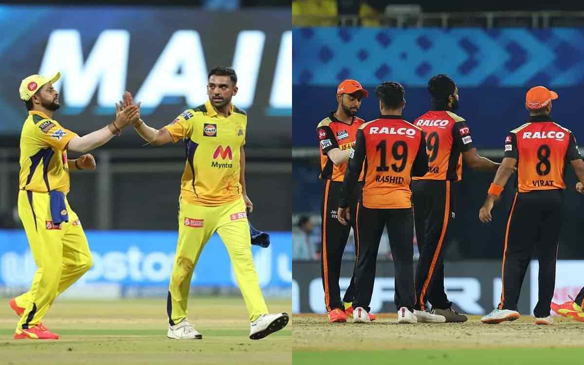 Cricket Image for Table Topper Chennai Super Kings Ready To Take On Sunrisers Hyderabad See Match Pr