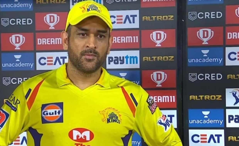 Cricket Image for धोनी ने दिल्ली से हार के बाद कहा, पहले बल्लेबाजी करने वाली टीमों को 200 का स्कोर क