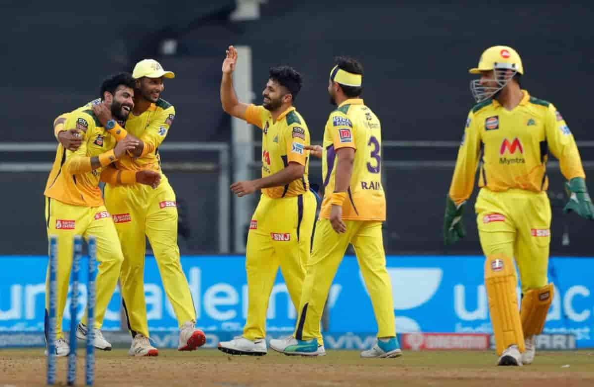 CSK beat RCB by 69 runs in ipl 2021