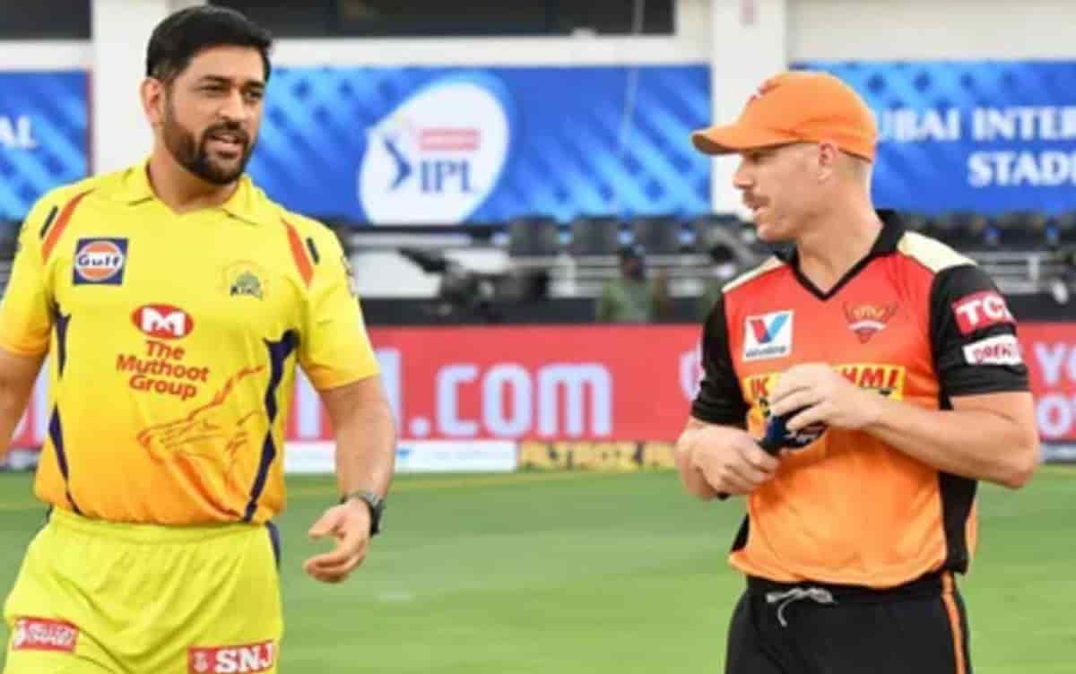 IPL 2021 SRH opt to bat first against chennai super kings