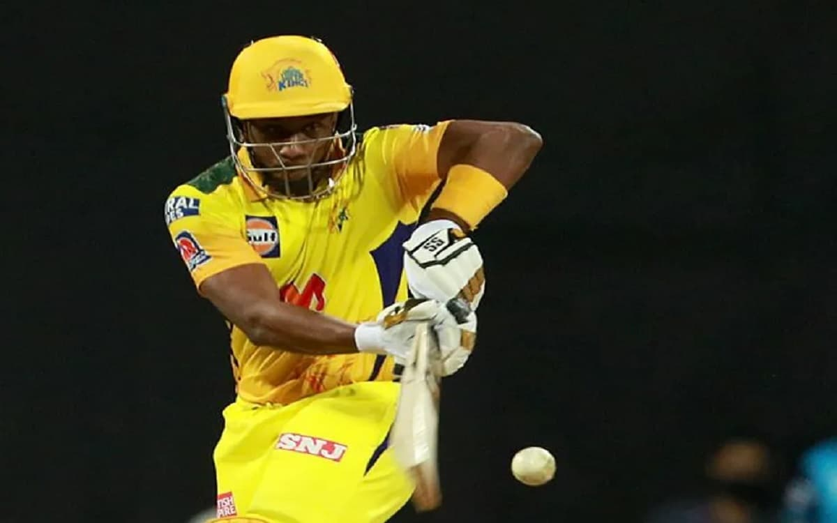 Cricket Image for Chennai Super Kings Innings Against Rajasthan Royals Ended With Bravos Six Team Ne