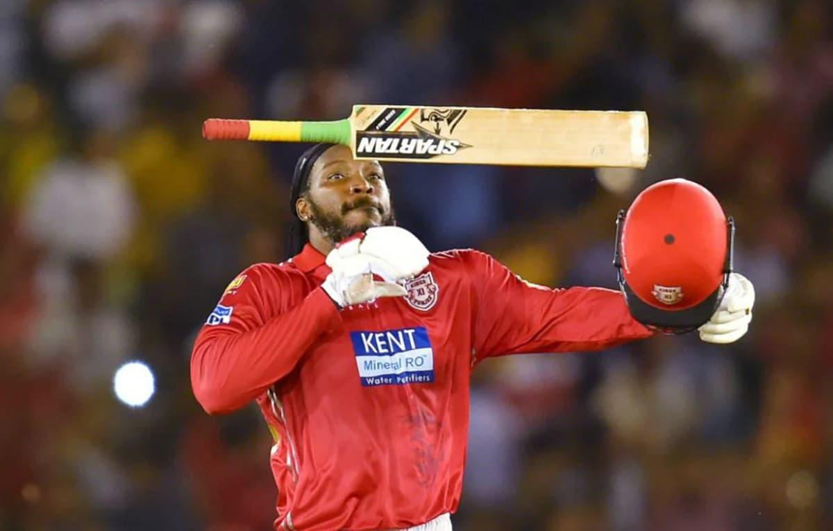 Cricket Image for क्रिस गेल इतिहास रचने की कगार पर,राजस्थान के खिलाफ 1 छक्का मारते ही बना देंगे अनोख