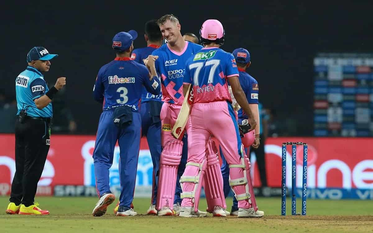 Cricket Image for Rajasthan Royals Beat Delhi Capitals By 3 Wickets With David Miller And Chris Borr