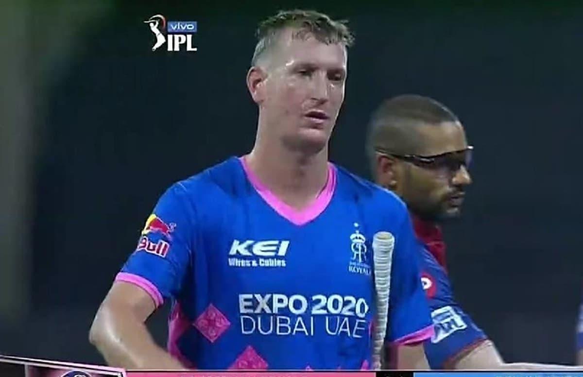 Cricket Image for IPL 2021: क्रिस मॉरिस ने आखिरी 2 ओवर में ठोके 29 रन, एक साथ तोड़ा आंद्रे रसेल-एल्ब