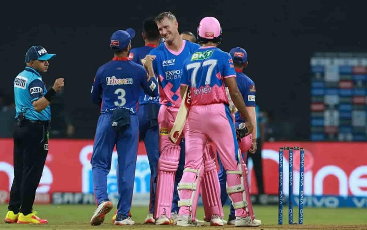 Rajasthan Royals beat Delhi Capitals by 3 wickets