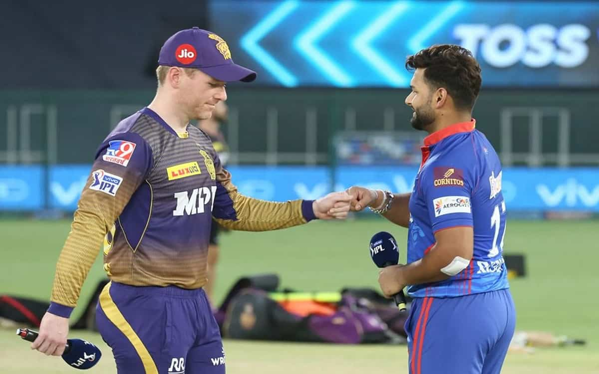 Cricket Image for Delhi Capitals Decide To Bowl After Winning The Toss Against Kolkata Knight Riders