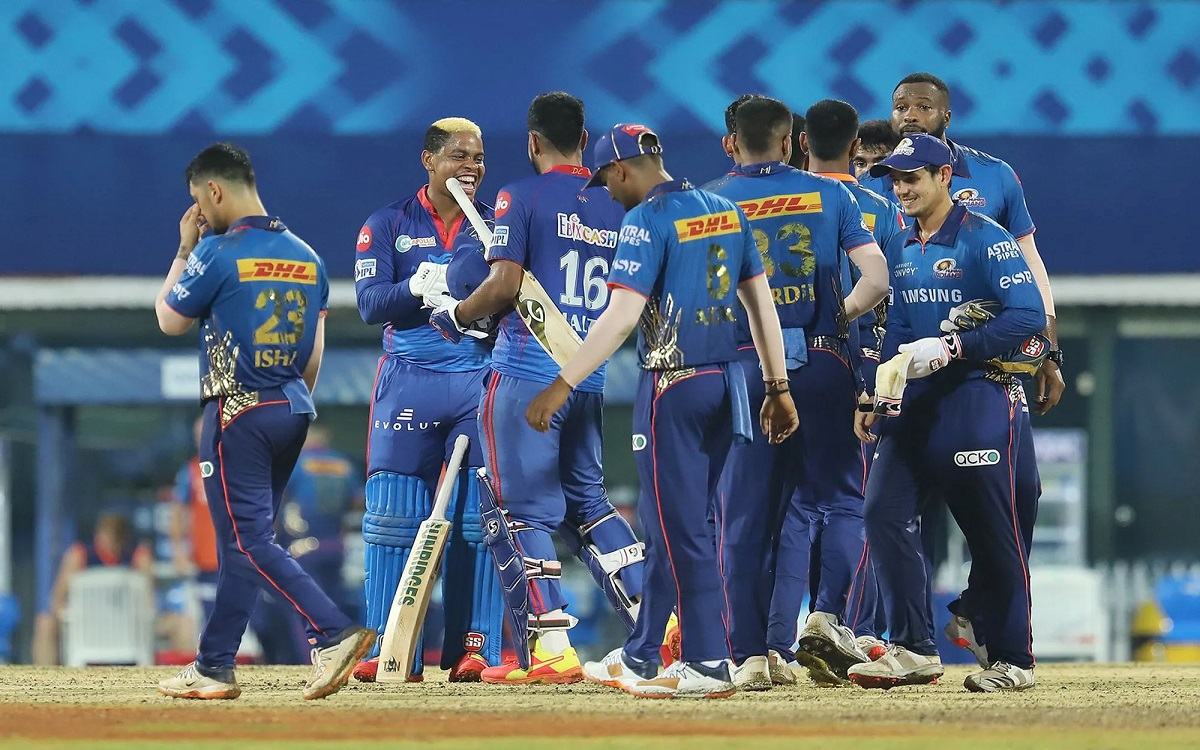 Cricket Image for Delhi Capitals Beat Mumbai Indians By 6 Wickets In Ipl 2021