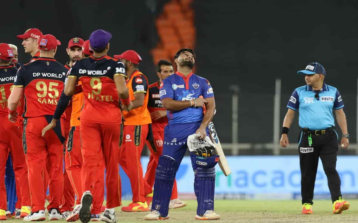 Cricket Image for Rcb Reached Top At Points Table After Beating Delhi By 1 Run In Close Match