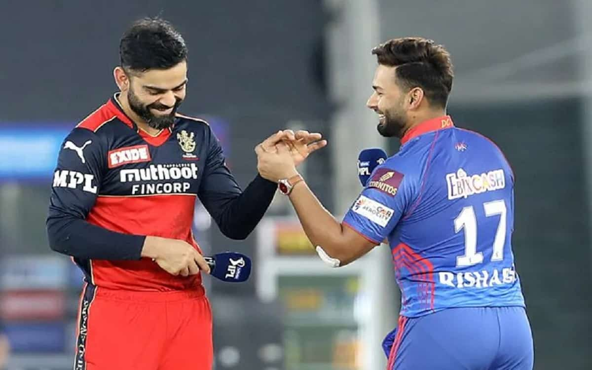 Cricket Image for Delhi Capitals Decide To Bowl By Winning Toss Against Royal Challengers Bangalore