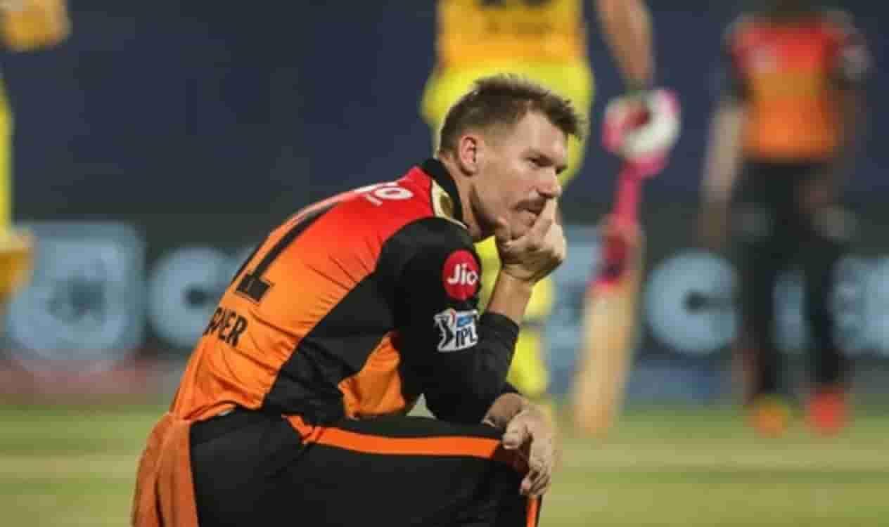 Cricket Image for SRH के कप्तान डेविड वॉर्नर बोले, मैं अपनी धीमी पारी और हार की जिम्मेदारी लेता हूं