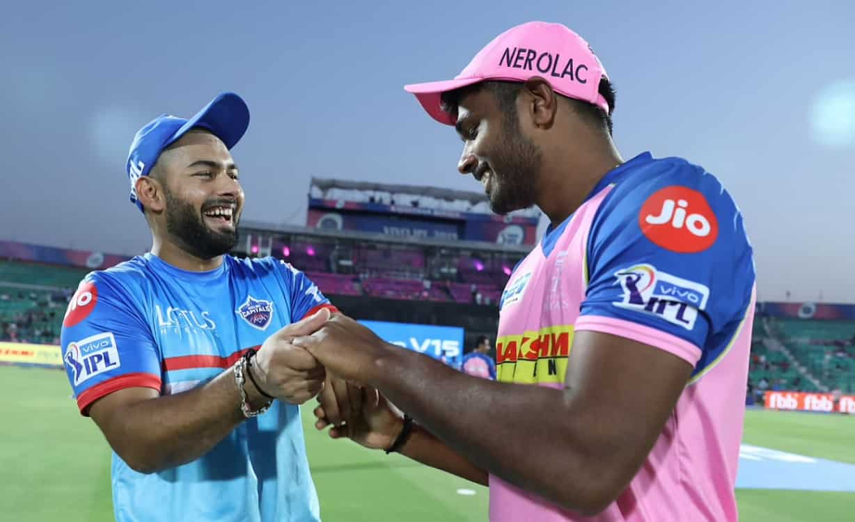 rajasthan royals opt to bowl first against Delhi Capitals