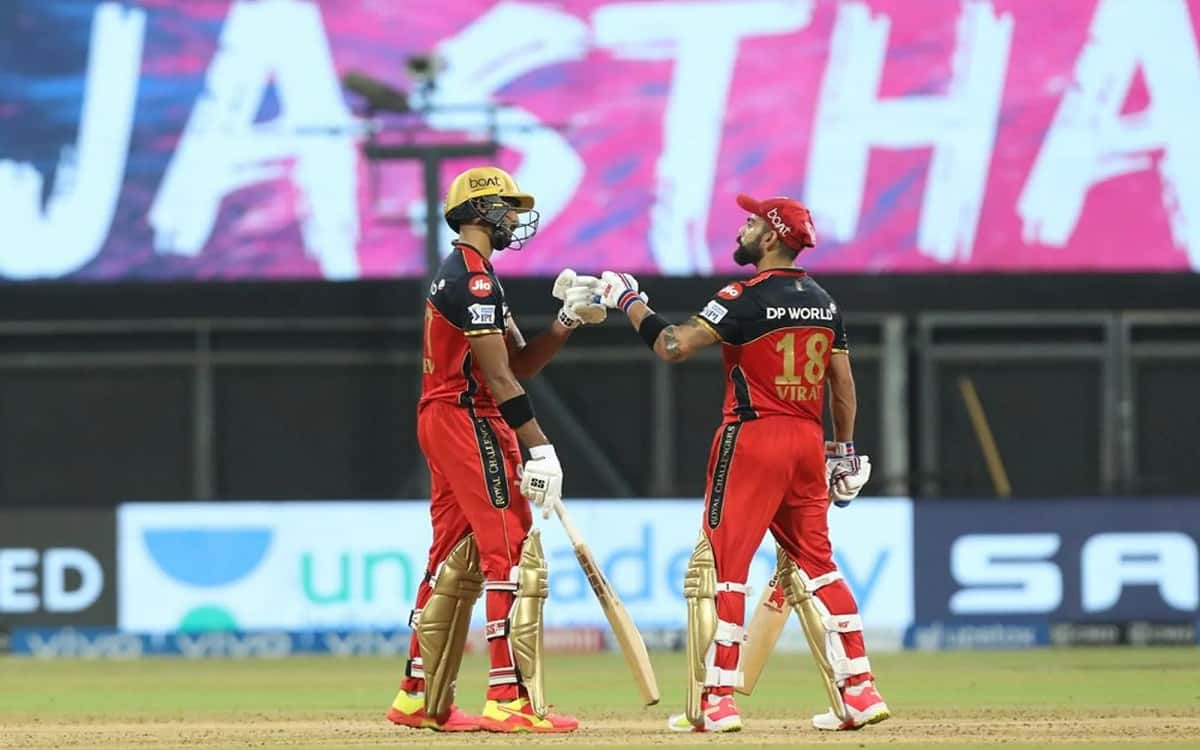 Cricket Image for Royal Challengers Bangalore Achieve Historic Win Over Rajasthan Royals By 10 Wicke