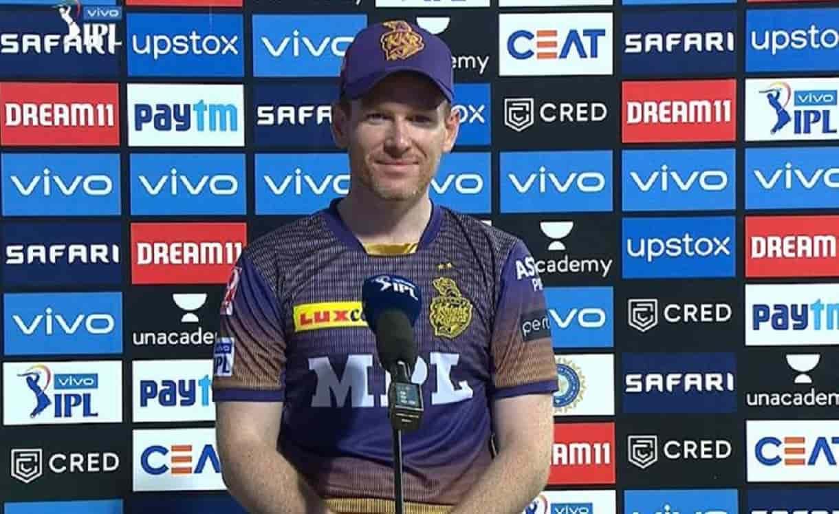 Cricket Image for IPL 2021: इयोन मोर्गन ने कहा, लय में होने पर आंद्रे रसेल सबसे खतरनाक खिलाड़ी होते