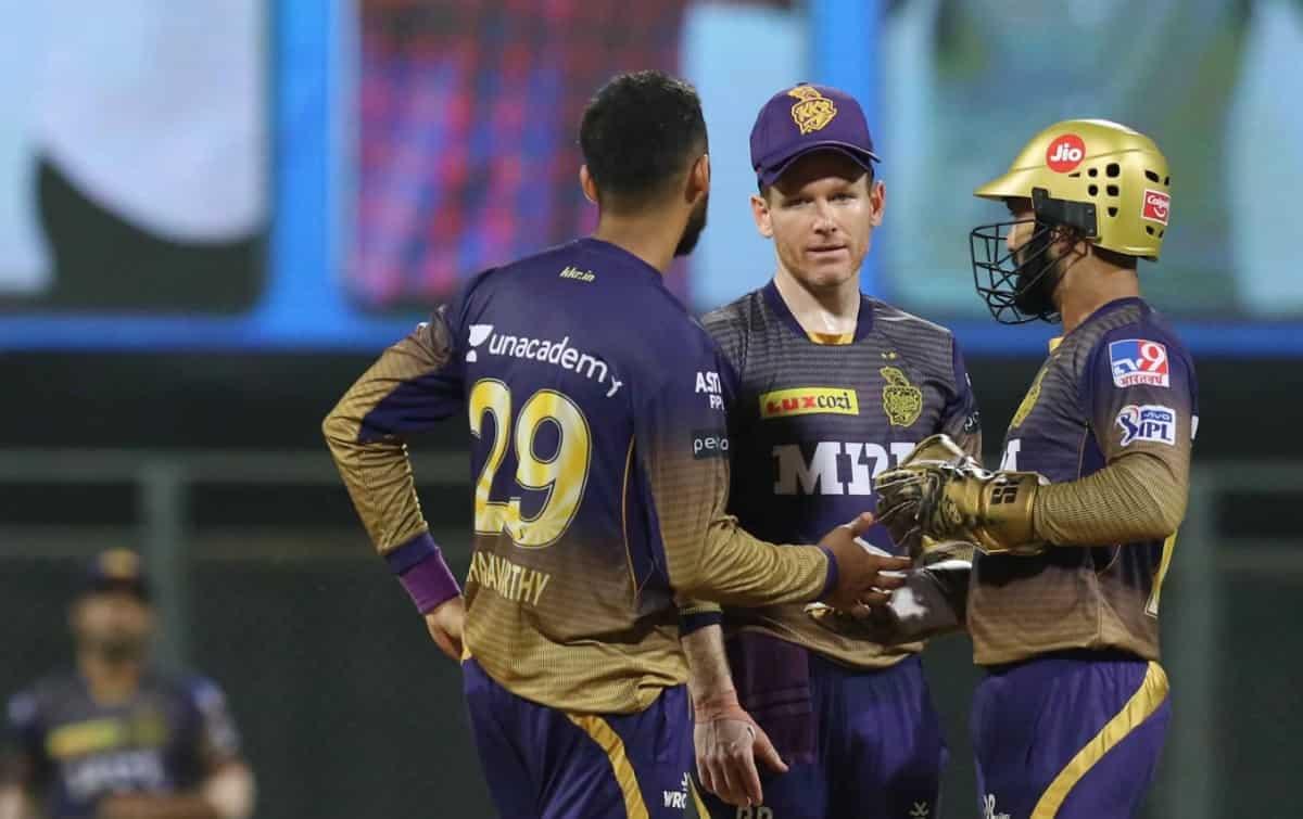 Cricket Image for IPL 2021: चेन्नई सुपर किंग्स से हार के बाद इयोन मोर्गन को एक और झटका, लगा 12 लाख र