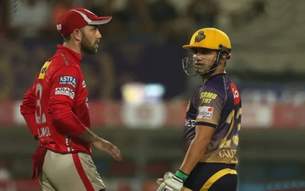 Cricket Image for Gautam Gambhir Says Rcb Batsman Glenn Maxwell Not Been Consistent At All