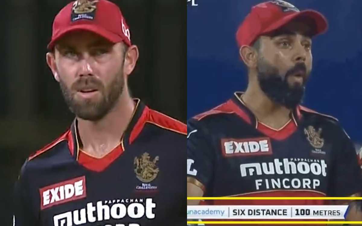 Cricket Image for 1079 दिन के बाद ग्लेन मैक्सवेल ने IPL में मारा छक्का, शॉट देखकर दंग रह गए विराट को