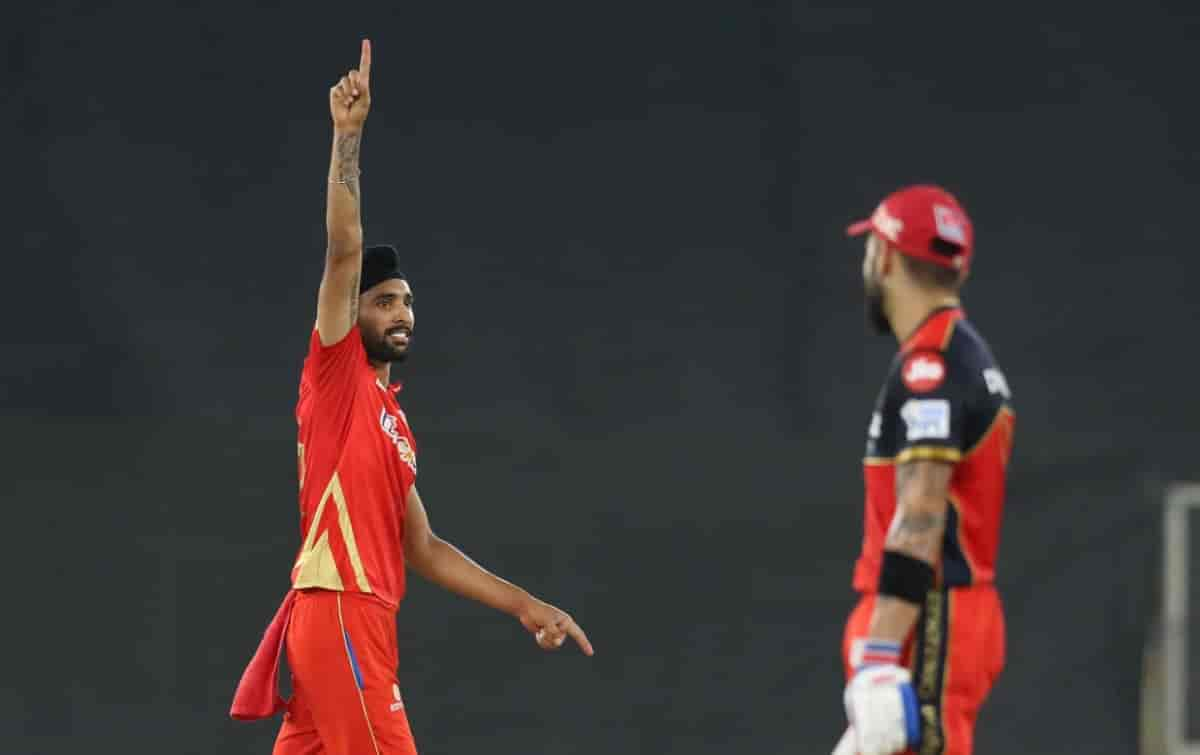 Punjab Kings beat RCB by 34 runs in IPL 2021