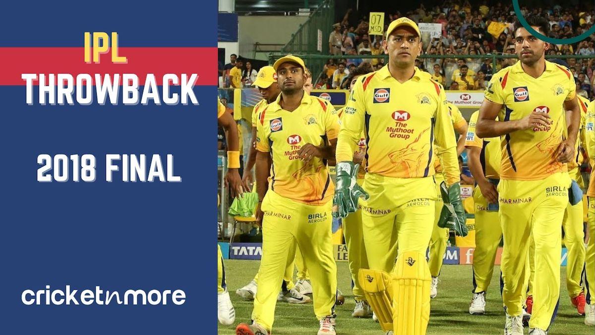 IPL 2018 Final