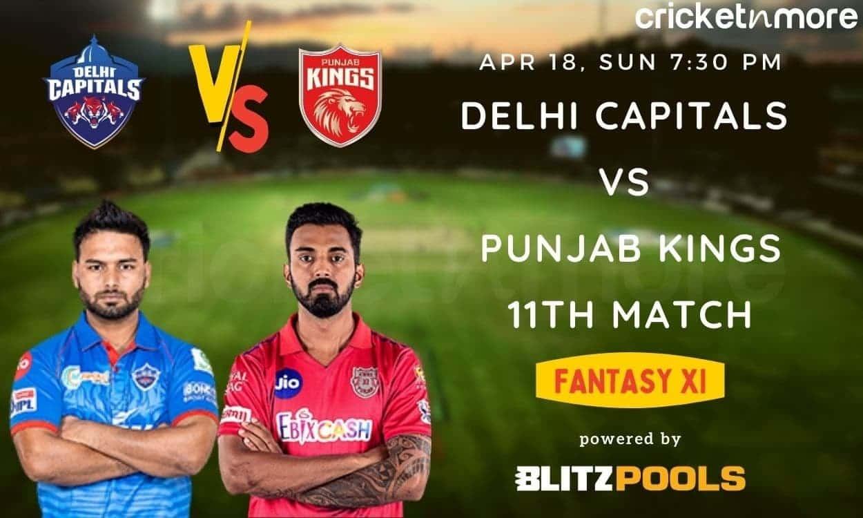 IPL 2021, Delhi Capitals vs Punjab Kings, 11th Match – Blitzpools Fantasy XI Tips