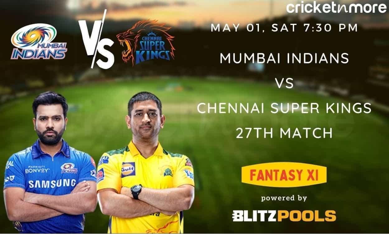 IPL 2021, MI v CSK – Blitzpools Fantasy XI Tips, Prediction & Pitch Report