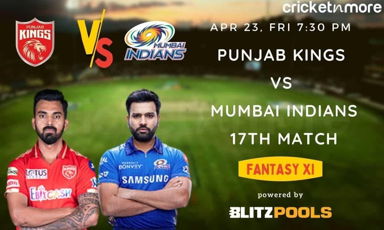 IPL 2021, Punjab Kings vs Mumbai Indians – Blitzpools Fantasy XI Tips, Prediction & Pitch Report