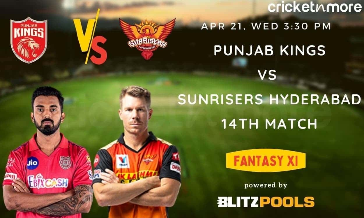 IPL 2021, Sunrisers Hyderabad vs Punjab Kings, 14th Match – Blitzpools Fantasy XI Tips