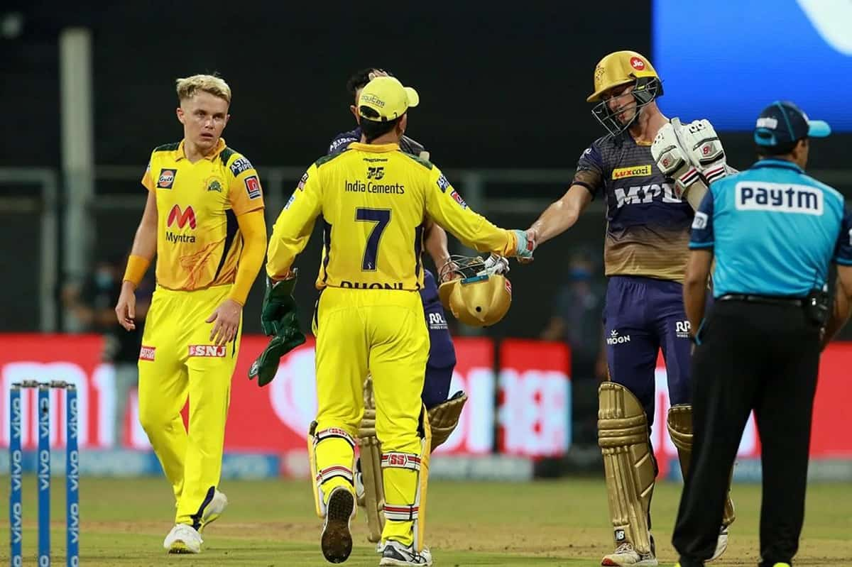 IPL 2021 - CSK beat KKR by 18 runs against in the 15th match of IPL