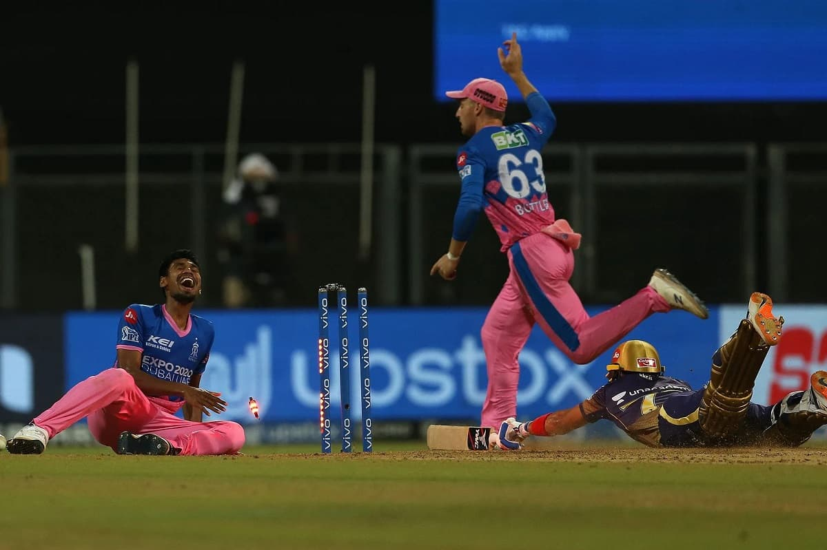 IPL 2021 - Rajasthan Royals vs Kolkata Knight Riders