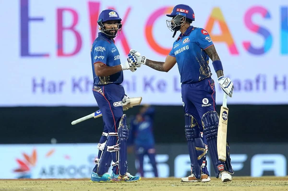 IPL 2021 - Mumbai Indians set a target of runs against Delhi Capitals
