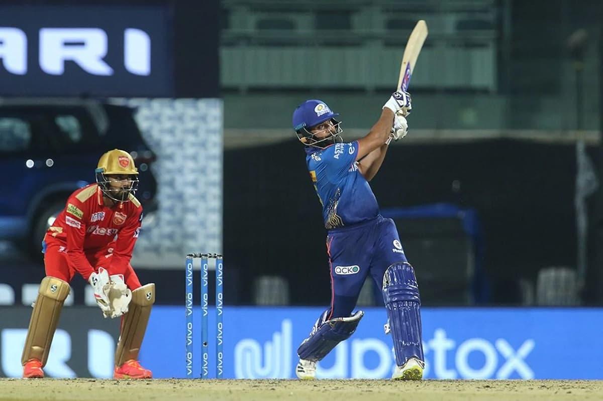 IPL 2021 - Mumbai Set a target of 132 runs against Punjab Kings