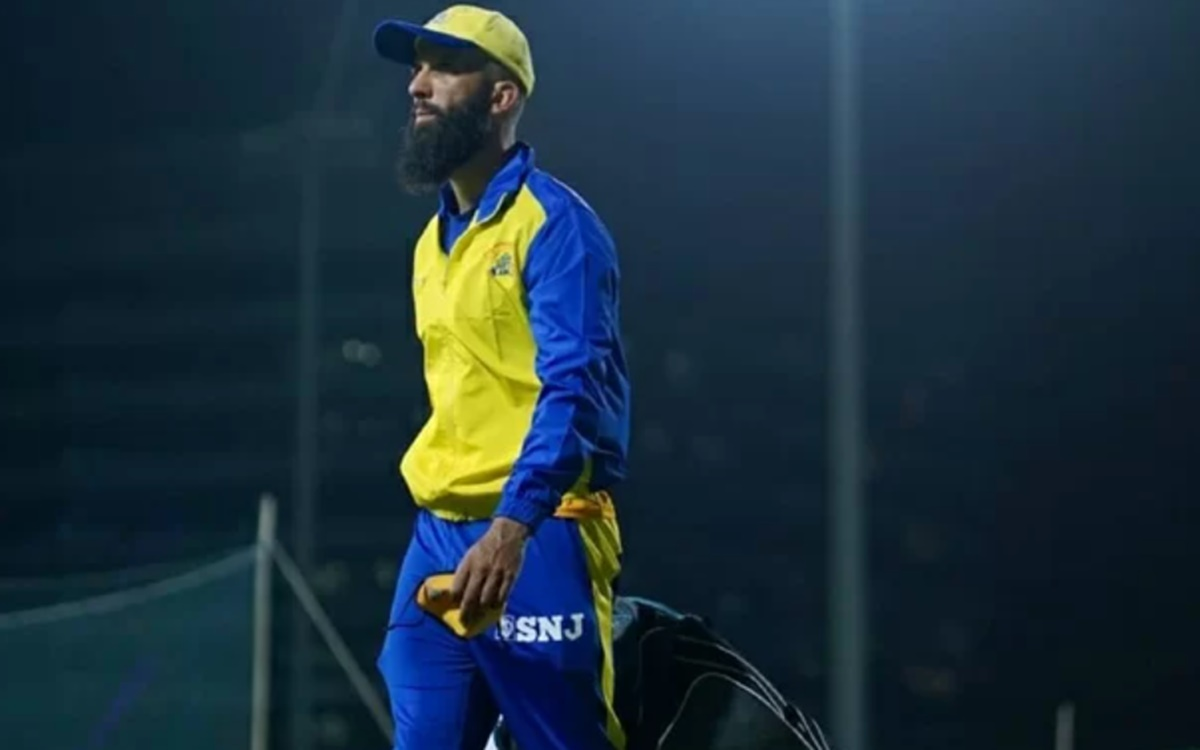 Cricket Image for  Csk Allrounder Moeen Ali Requests Csk To Remove Alcohol Brand Logo