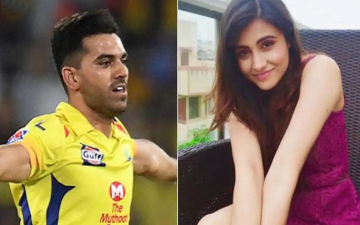 Cricket Image for Ipl 2021 Chennai Super Kings Bowler Deepak Chahar Sister Malati Chahar Troll Kkr