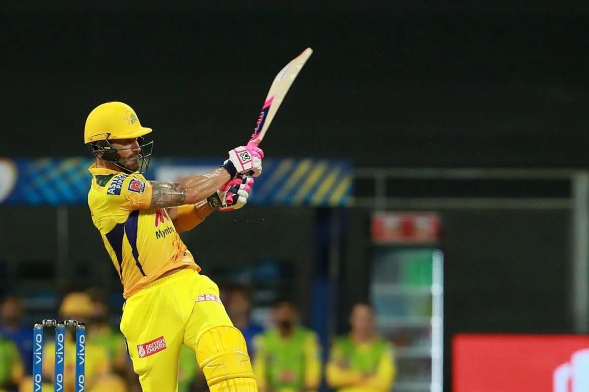 IPL 2021 Chennai Super Kings set a target of 221 runs against KKR
