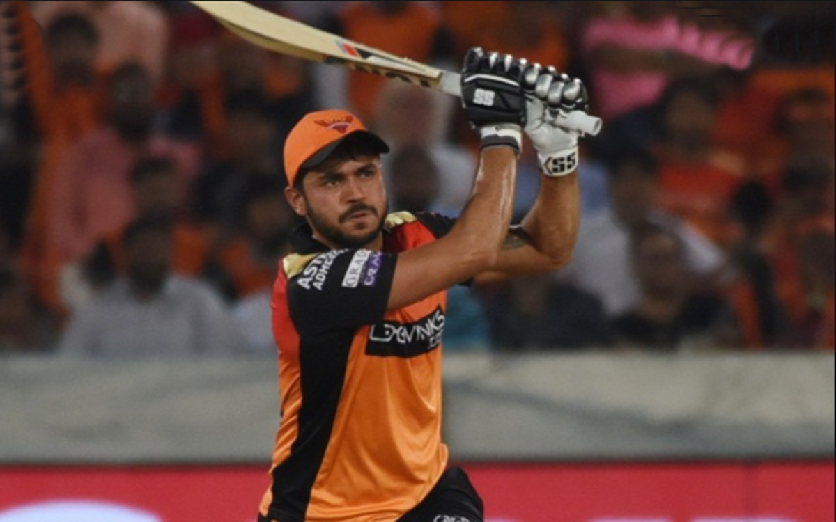 Cricket Image for Ipl 2021 David Warner Did Not Disclose The Exact Reason For Dropping Manish Pandey