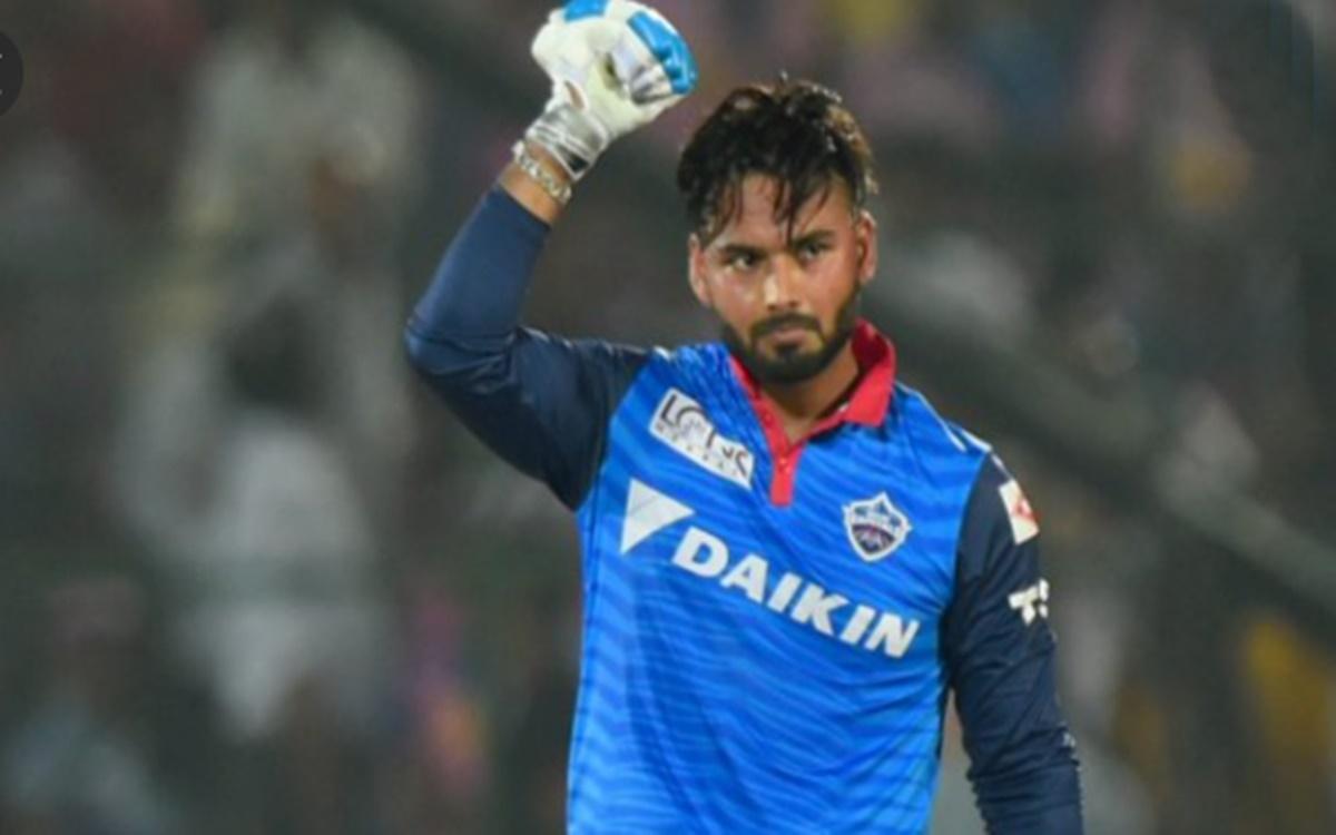 Cricket Image for Ipl 2021 Delhi Capitals Captain Rishabh Pant Screams On Lalit Yadav