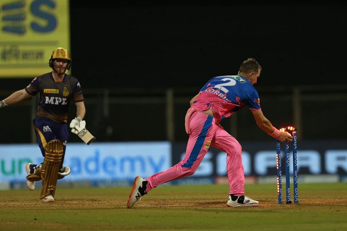 IPL 2021: Eoin Morgan becomes 2nd captain after Gautam Gambhir to get a duck without facing a ball