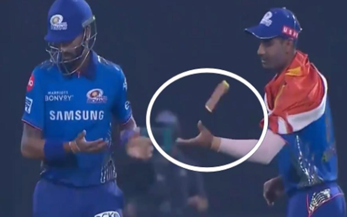 Cricket Image for VIDEO: क्रुणाल पांड्या ने दिखाया घमंड, अनुकुल रॉय के साथ किया खराब बर्ताव