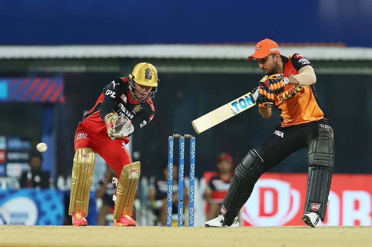 IPL 2021: Manish Pandey might ruled out from playing XI from next game, says Ajay Jadeja