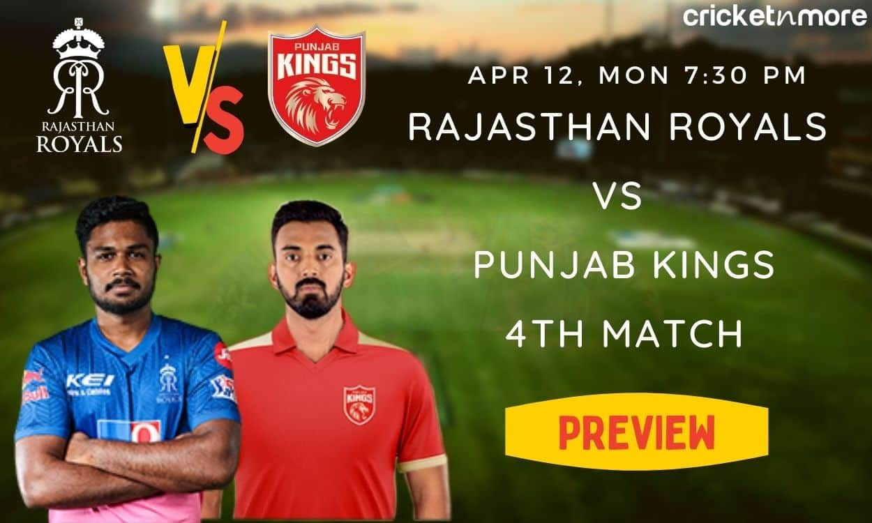IPL 2021 Match preview of Punjab kings vs Rajasthan Royals, probable playing XI