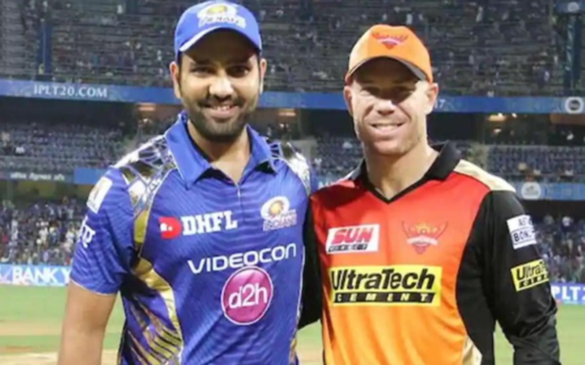 Cricket Image for Mumbai Indians Captain Rohit Sharma Reacts To David Warner Post
