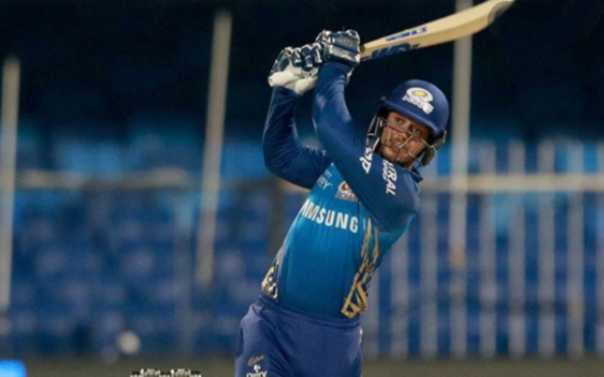 Cricket Image for Ipl 2021 Quinton De Kock Likely To Be Available For The First Match Against Rcb