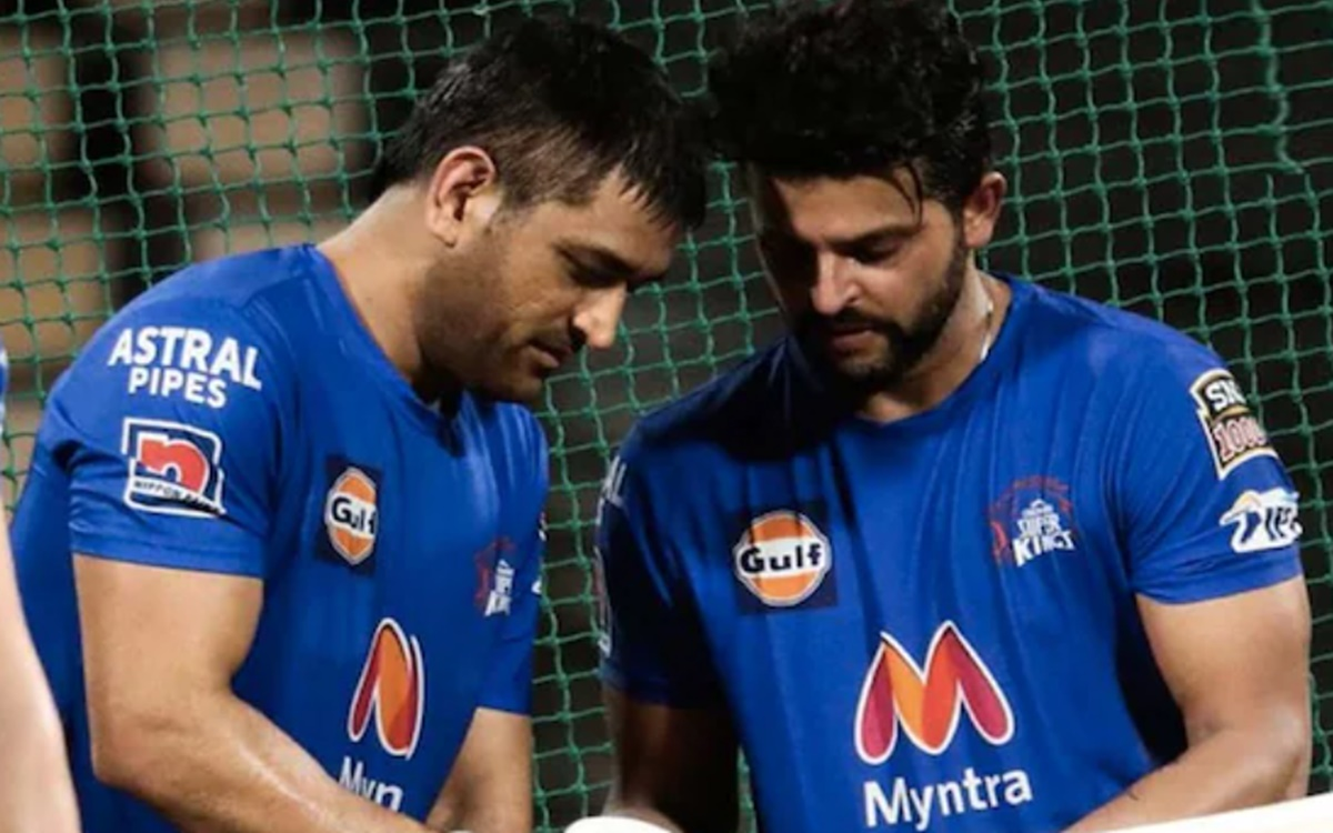 Cricket Image for Suresh Raina Shares An Emotional Post With Ms Dhoni