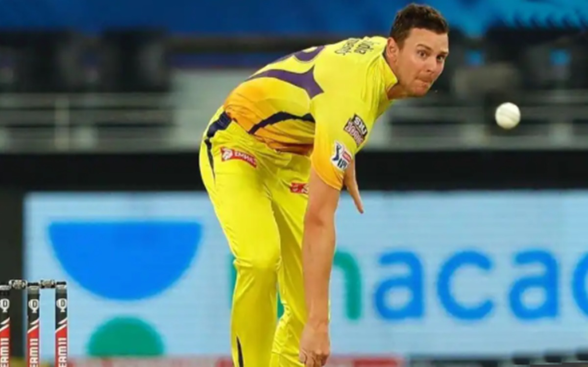 Cricket Image for IPL 2021 Ipl 2021 Three Players Who Could Replace Josh Hazlewood At Csk
