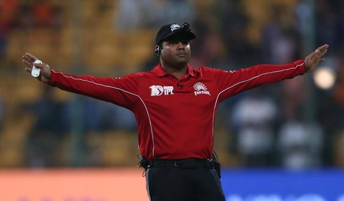 IPL 2021 Umpires Nitin Menon pull out of the tournament citing personal reason