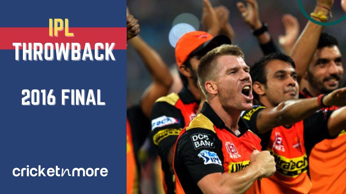 IPL 2016 Final