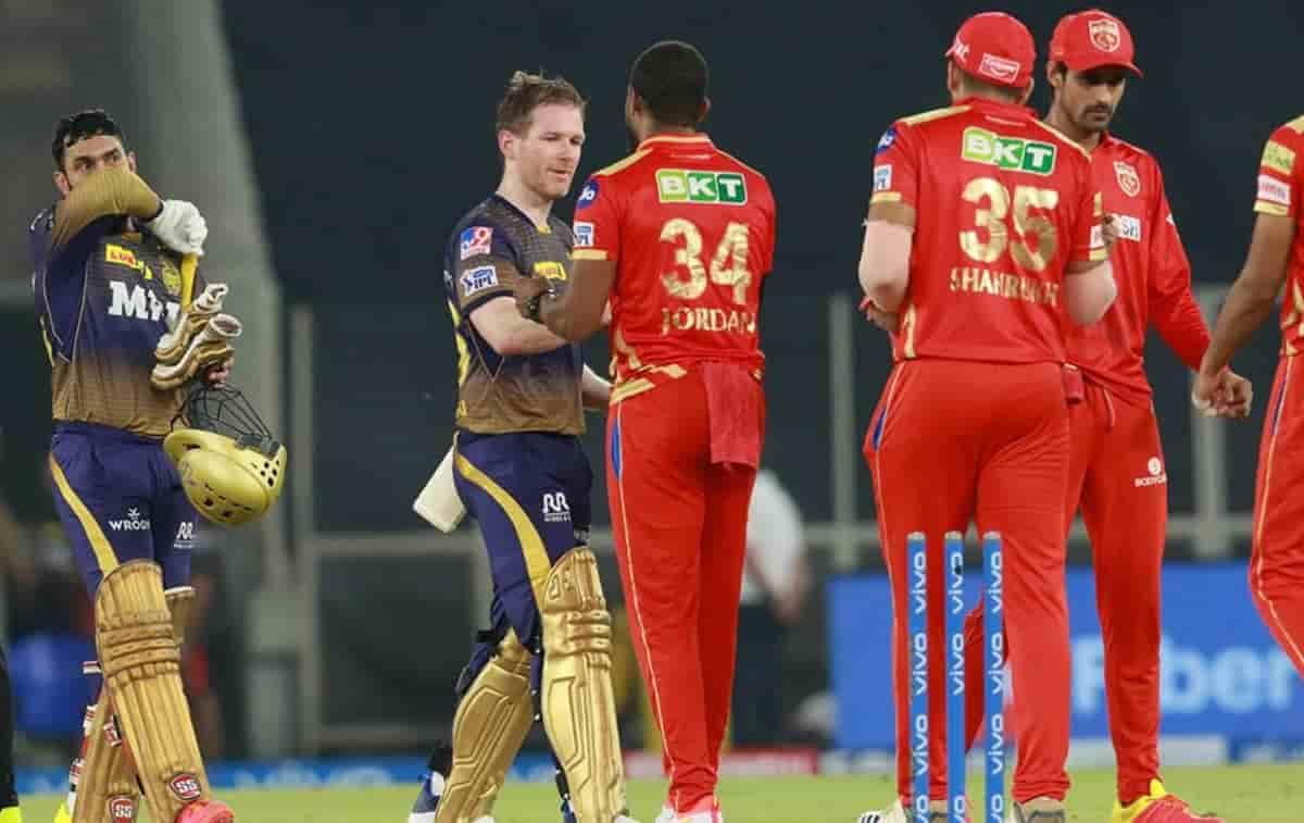 Cricket Image for IPL 2021: पंजाब किंग्स को 5 विकेट स हराकर केकेआर ने दर्ज की दूसरी जीत,इयोन मोर्गन