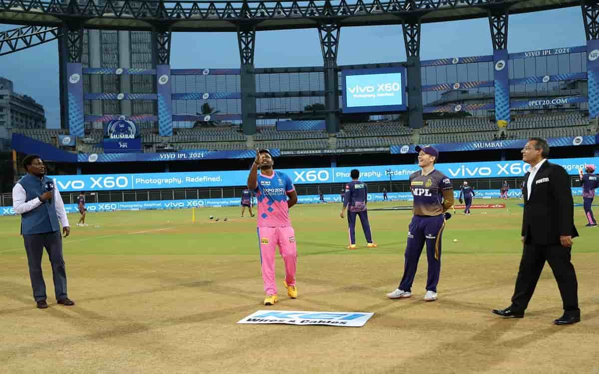 Cricket Image for Rajasthan Royals Decided To Bowl After Winning The Toss Against Kolkata Knight Rid
