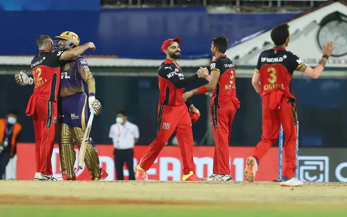 Cricket Image for Royal Challengers Banglore Hit Hat Trick After Defeating Kolkata Knight Riders By