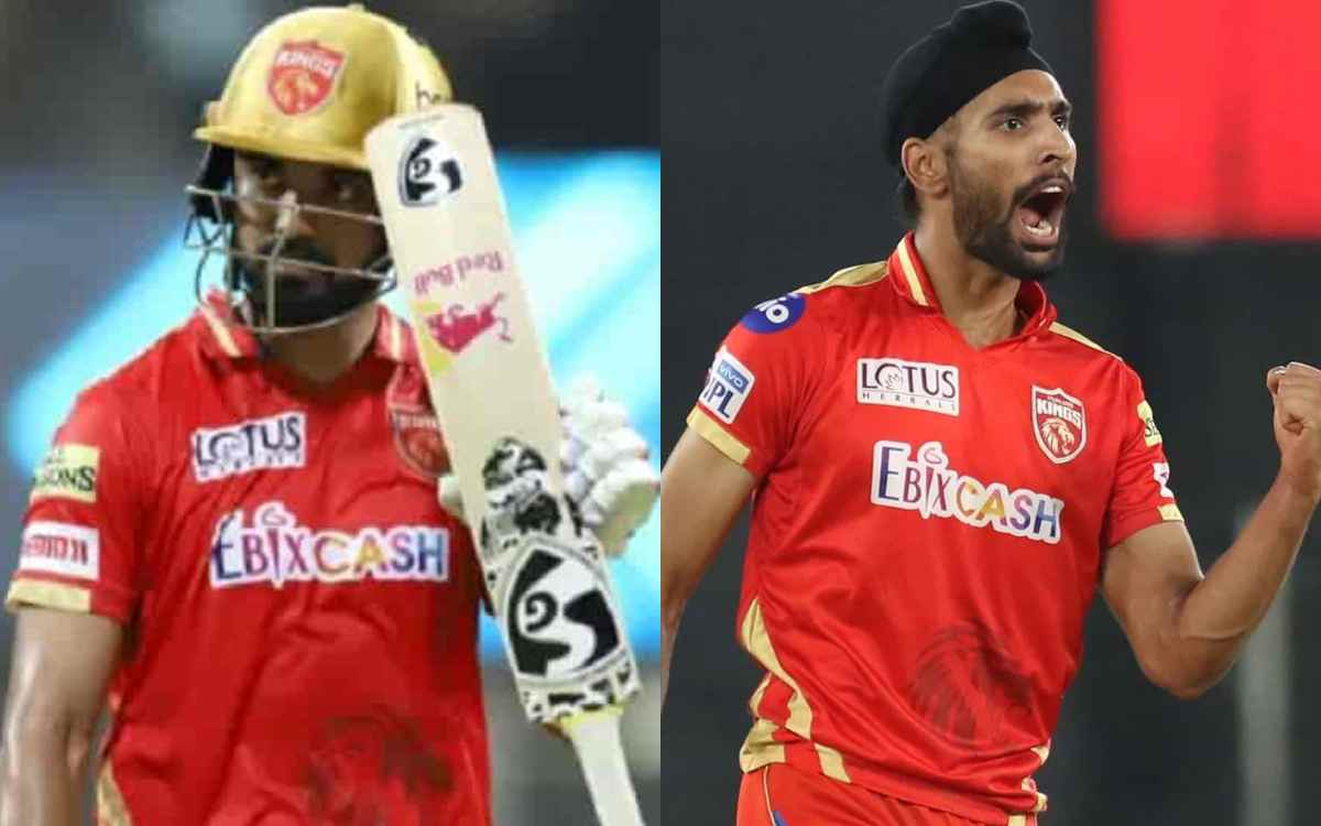 Cricket Image for Punjab Kings Won By 34 Runs Over Royal Challengers Banglore By Harpreet Brars